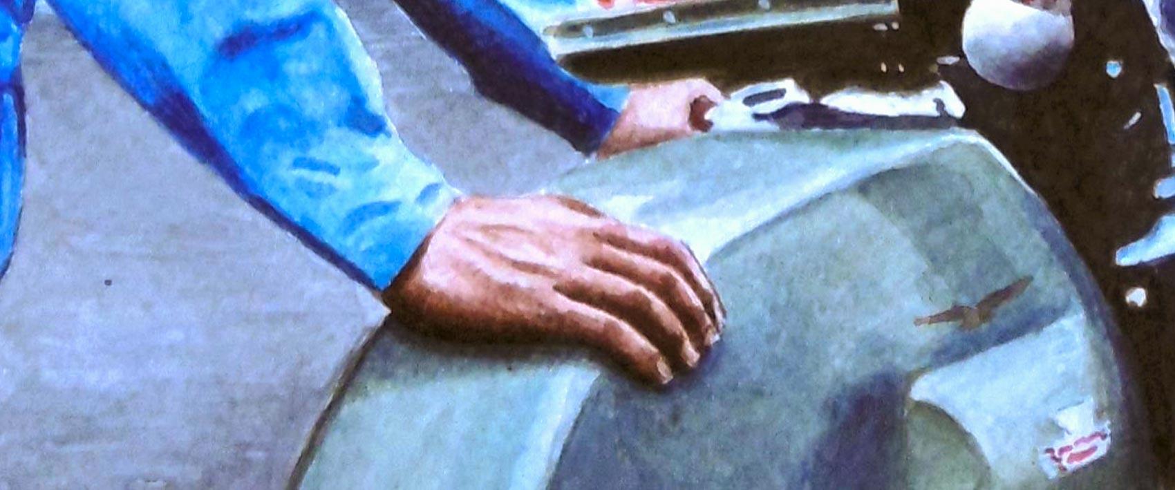 Joyside Bol d'Or 1972 Moto Guzzi Ettore Gambioli