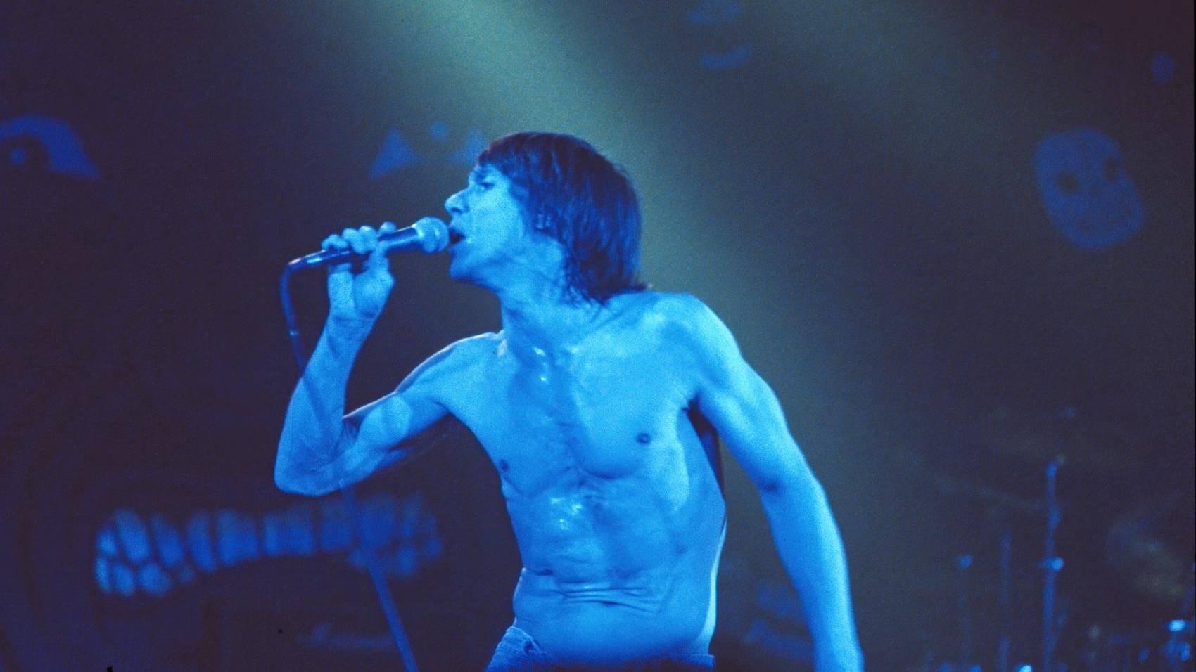 Joyside Iggy Pop Rolling Stone Milano 1989