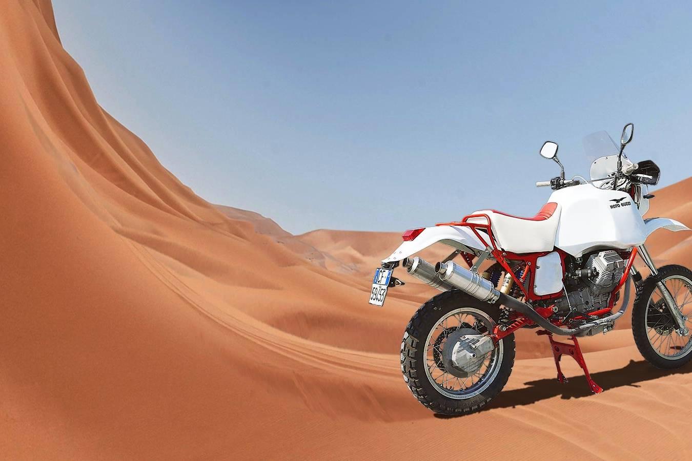 Joyside Moto Guzzi V75 Dakar replica