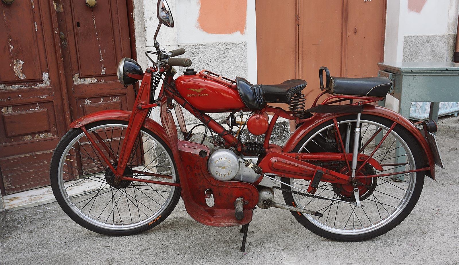 Joyside Molise Moto Guzzi Cardellino