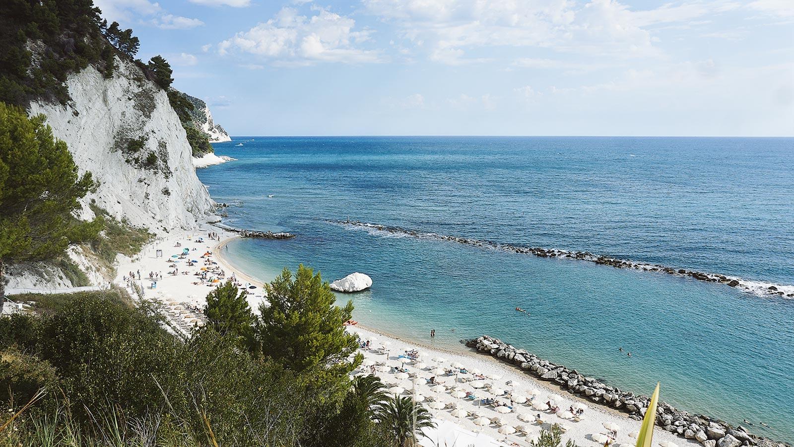 Joyside Molise Abruzzo Marche Conero spiaggia dei Frati