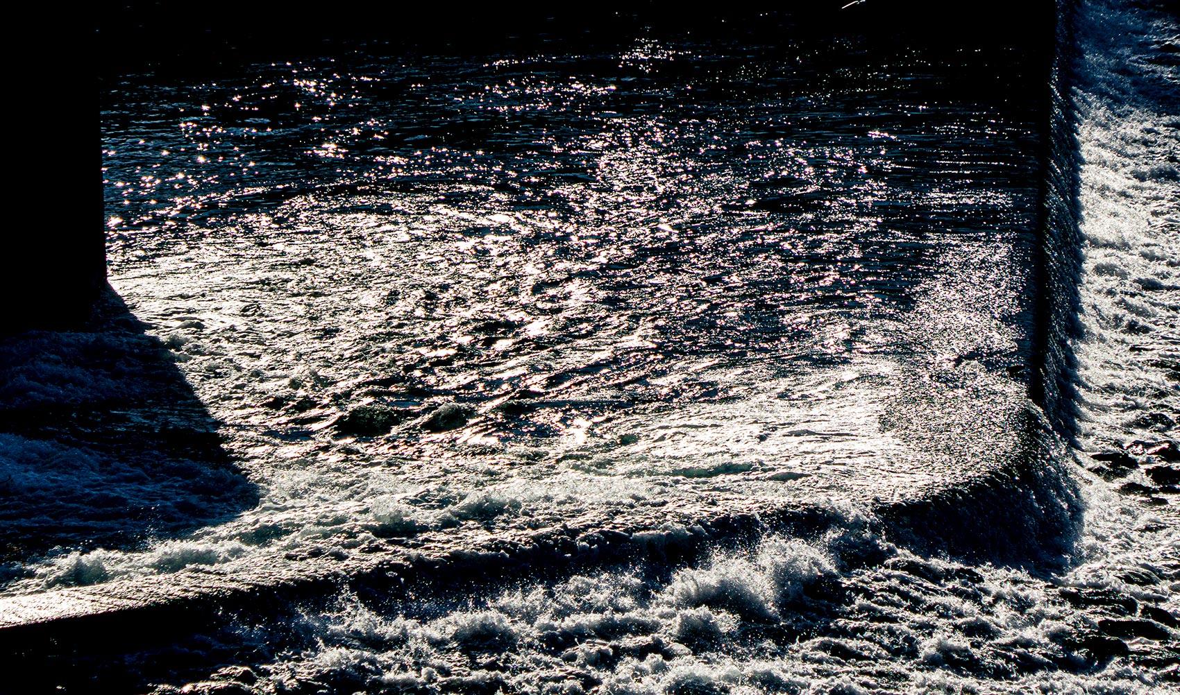 Joyside autunno acqua di seta immagini luci
