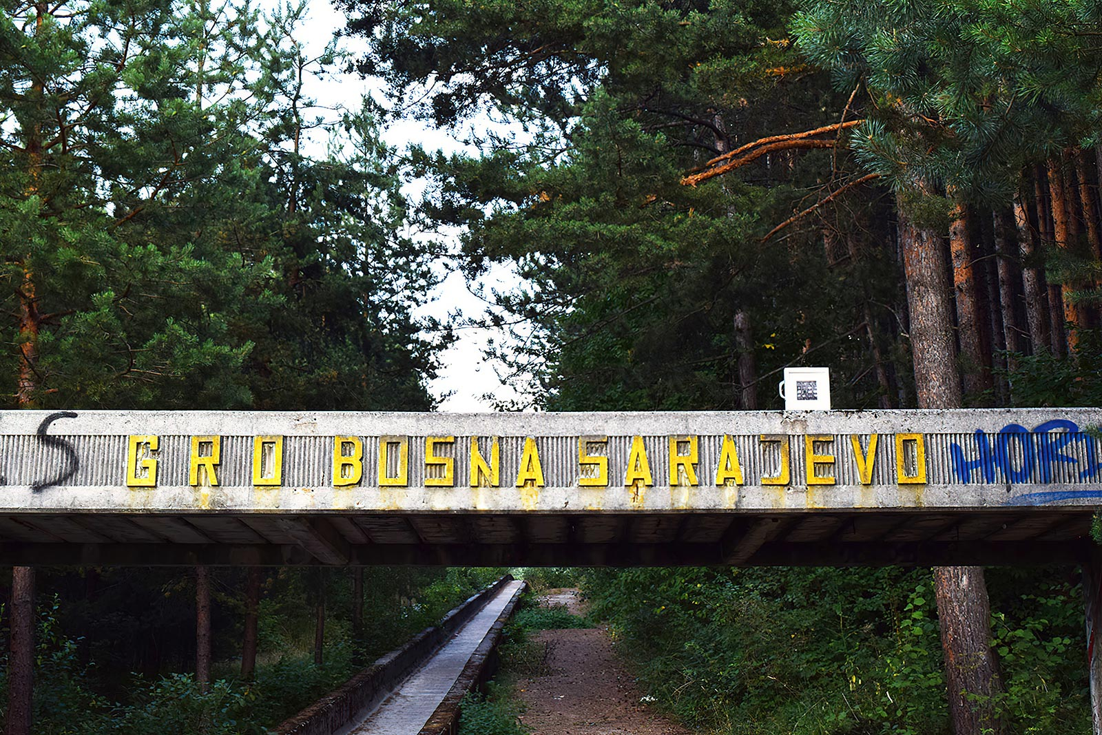 Joyside Stefania Bressani arte abbandono Sarajevo