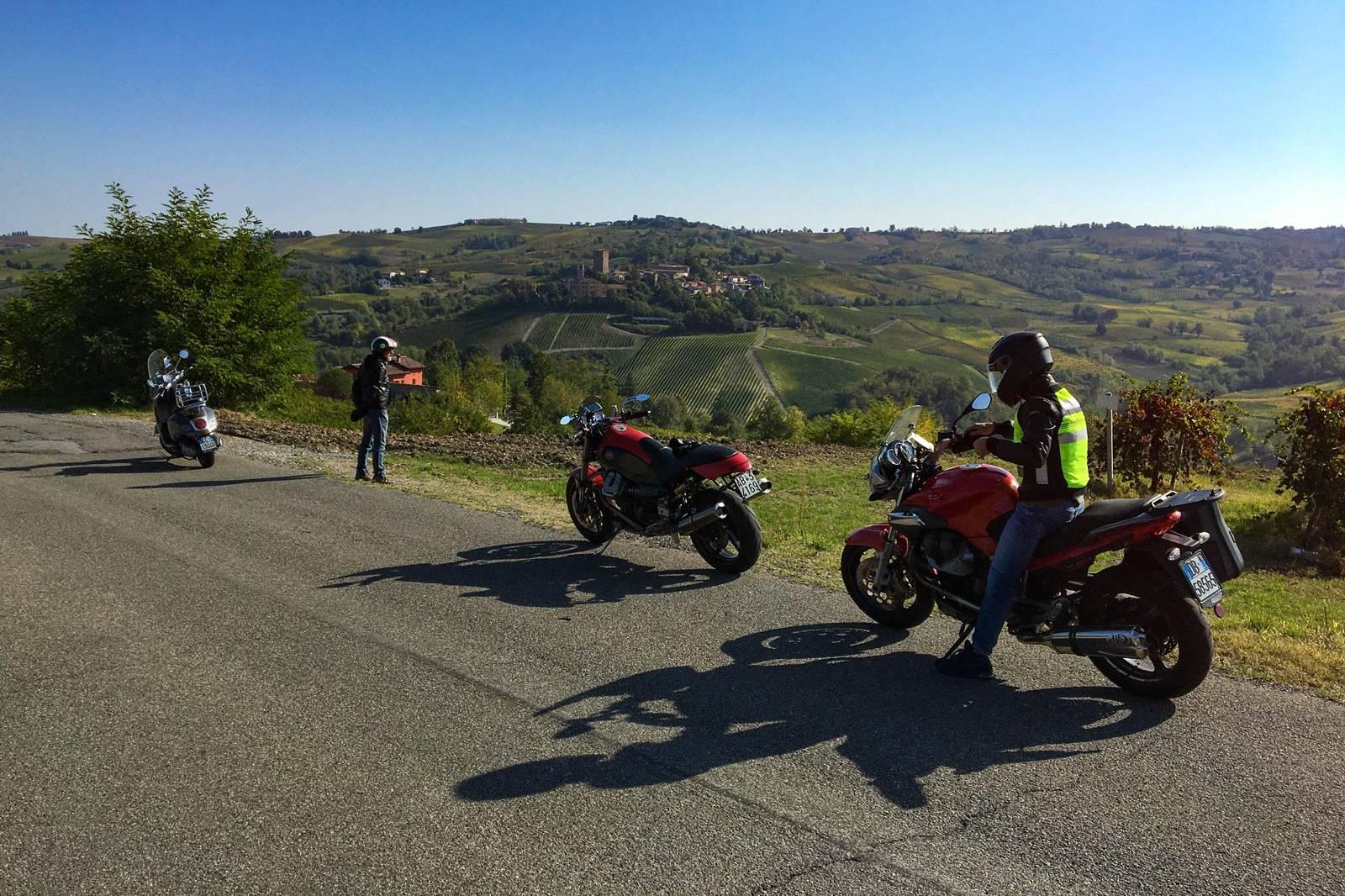 Joyside buena onda in moto Golferenzo oltrepò pavese